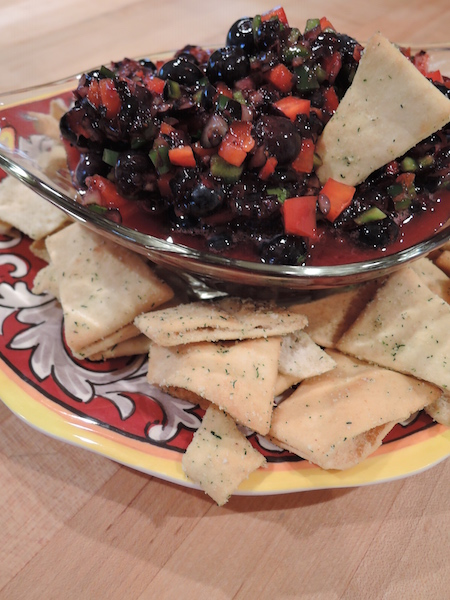 Blueberry Salsa, Franklin Life, Forest Home Media