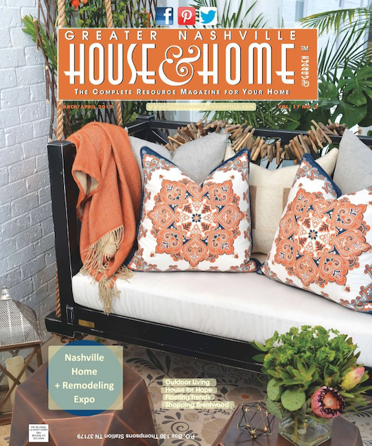 House For Hope, Greater Nashville House & Home Cover